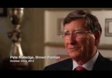Peter Rutledge (Brown-Forman): What Makes Good Bourbon?