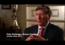 Peter Rutledge (Brown-Forman): The Bourbon Trail